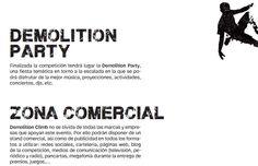 Y por la noche... ¡Demolition Party! http://www.bierzonatura.es