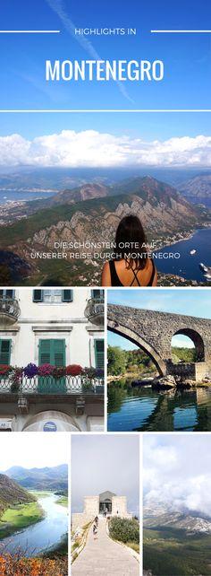 Unser Reisebericht zeigt dir die schönsten Orte und coolsten Highlights von Montenegro, die wir auf unserem Backpacking Trip über den Balkan kennenlernen konnten. Zwischen Küste und Bergen, traumhaften Städtchen und einer ungestümen Natur. Noch ein echter Geheimtipp für eine Urlaub in Europa und auch die Kosten sind sehr sehr gering! #montenegro #balkan #urlaub #backpacking #europa #reisen