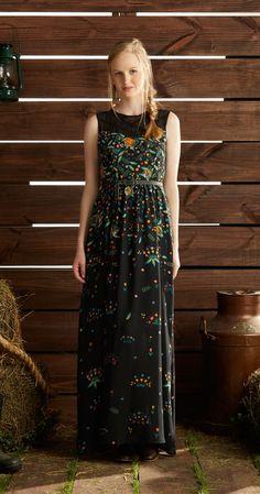 Só na Antix Store você encontra Vestido Longo Garoa de Flores com exclusividade na internet