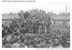 POWs Welcome Their Liberators