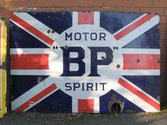 BP Motor Spirit Garage Sign