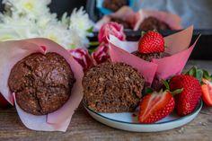 Schoko Nuss Muffins vegan | Mrs Flury - gesund essen & leben
