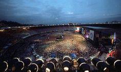 Estádio do Maracanã - Rock in Rio 2 - 1991