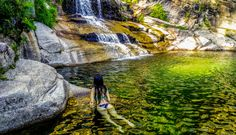 5. Cascata do Tahiti, Gerês Algarve, Beautiful Places To Visit, Wonderful Places, Tahiti, Visit Portugal, Where To Go, The Dreamers, The Good Place, Places To Go