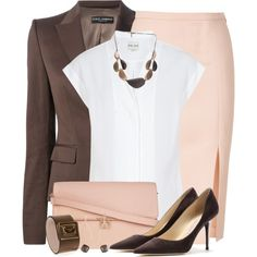 A fashion look from September 2014 featuring Reiss tops, Dolce&Gabbana blazers and Emilio Pucci skirts. Browse and shop related looks.
