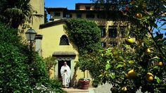 Villa La Massa, Tuscany, Italy
