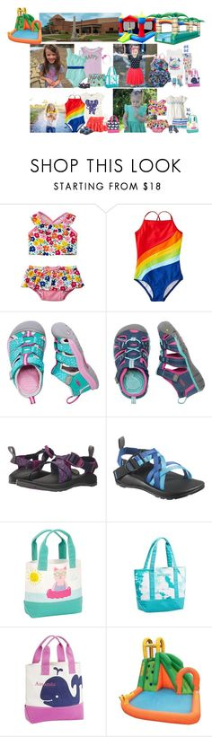 """""""Wednesday 6/7 -Water Fun"""" by my-creative-mess ❤ liked on Polyvore featuring Gymboree, Roxy Kids, Keen Footwear, Chaco and kidzonekids2017"""