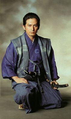 Junichi Okada / Actor.  Costume of sengoku era.