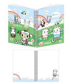 Tokidoki Moofia Soccer A5 Notebook. Kawaii :)
