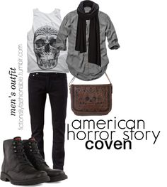 witch modern male aesthetic winter discover