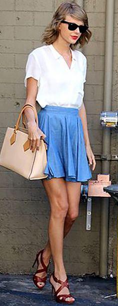 O estilo da... Taylor Swift - Claudia BartelleClaudia Bartelle