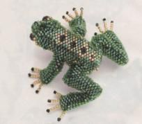 Beaded Frog Tutorial