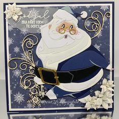 Christmas Cards To Make, Xmas Cards, Christmas Art, Christmas Projects, Handmade Christmas, Christmas Mantles, Christmas Villages, Silver Christmas, Victorian Christmas