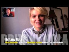 """Happy Birthday to Britany Nola, Playboy's Miss November 2012! 2012 VIDEO INTERVIEW  BRITANY NOLA audio excerpt: """"You can be a smart woman and a together woman but still be comfortable with your body. Women are made to think that there's something wrong with us. We're so afraid of our bodies. You can show a man getting his sliced off at 8 p.m. 'The Walking Dead' is outrageously violent! But God forbid a nipple is shown; it's the end of the world.""""…"""