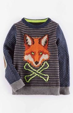 Mini Boden 'Country' Crewneck Sweater (Toddler Boys, Little Boys & Big Boys) available at #Nordstrom