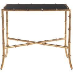Safavieh Home Furniture Donald Gold Accent Table