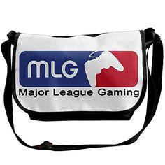 Major League Gaming MLG ESports Logo Men Women Tour Shoulder Handbag Messenger Bags -- See this great product.