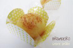 Receita de Brigadeiro Crème Brûllé #recipe #party