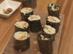 Sushi Vegano #sushi #veganfood #cybercook #recipes #foodlovers #japanfood