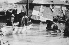 In 1954 Toronto, Ontario got smacked rudely by a storm named Hazel, Hurricane Hazel actually. Toronto Ontario Canada, Toronto City, Hurricane Hazel, Western U, Toronto Photos, Canada 150, Canadian History, Time Photo, Canada Travel