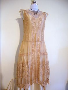 ca 1923 evening dress