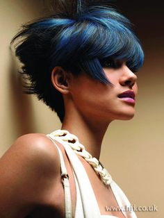 Wild n Sassy short hair - i like the color style