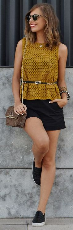 Mustard Touch Outfit Idea by Be Iconic
