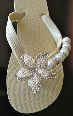 Shimmering Shore  By Flipinista, Your BFF (best flip flop)  Registered Trademark ♥