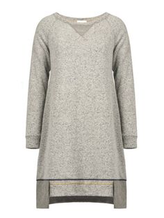 Italian Chic, Malene Birger, Fun Prints, Gray Dress, Knit Dress, Just In Case, Collections, Wool, Knitting
