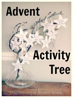 A homemade Advent calendar idea so you can include the things you want for your kids & family: Great for fun, treats, service, and remembering it's about more than presents.