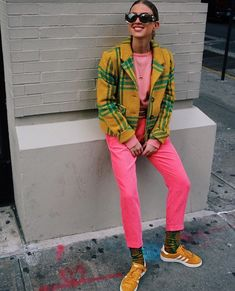 Love this look! Its funky  yet retro  at the same time. This might become my future ootd