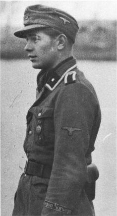 ■ An Unterscharführer of the Legion Norwegen