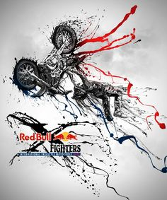 Red Bull X Fighters artwork 2012