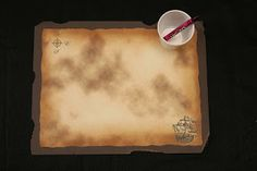 DIY Pirate Placemats to draw a Map or Color a Pirate Pic!