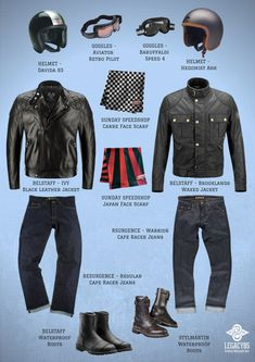 Cafe Racer Style 2018 - World of Motor Motorcycle Jeans, Retro Motorcycle, Cafe Racer Motorcycle, Motorcycle Style, Motorcycle Outfit, Biker Style, Triumph Cafe Racer, Vintage Cafe Racer, Cafe Racer Clothing