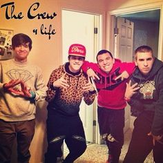 The crew is back together finely  DMATB