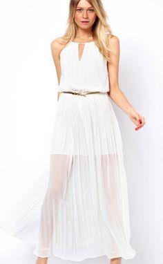 Vestidos Blancos Largos Sencillos