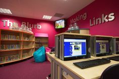 Multi functional workstations at Miriam Lord School
