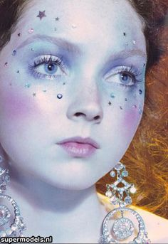Supermodel Lily Cole face, fairi makeup, makeup artist, halloween costumes, fairy makeup, lili cole, lily cole, editori model, beauti