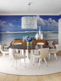 Wall Mural Design Ideas, Pictures, Remodel, and Decor - page 5