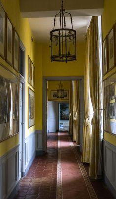 the yellow corridor