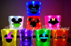 These are not a preorder, they ARE IN STOCK AND READY TO SHIP. :) Why order one on a pre-sale when you can get yours this week!  No need for a flashlight this year! Let this adorable bucket light your childs way. These buckets are cute, functional, and a great safety feature for a dark Halloween night. Item details:  *Single Sided 1 Color Bucket- $15 (a design OR name). *Double Sided 1 Color Bucket- $17 (both sides of the buckets are decorated).  *Single Sided MULTI-Color Bucket- $19.50…