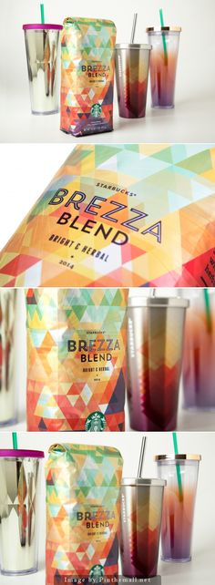 We love the whole theme behind Starbucks®  has rolled out for their Brezza Blend. The interiors of the cafe also reflect the style. The design is very nice!