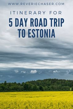 What to see in Estonia? Read the blog post on all you need to know - how much does it cost to visit this little known country at the Baltic sea? Your ultimate checklist for a road trip to Estonia, cities, natural parks, waterfalls, abandoned soviet buildings and modern museums. Best visited in summer, autumn, winter and spring! Pack your bags for this European capital of charm for your next vacation! #estonia #roadtrip #baltics #nature #north #northern #practical #tips #bucketlist #bog…