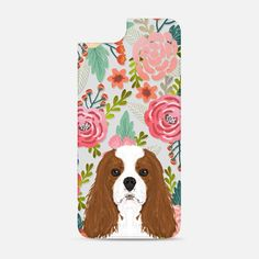 Cavalier king Charles Spaniel dog breed transparent cell phone case pet friendly dog person gifts spaniels Backplate