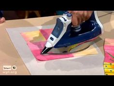 Art Quilts: Fusible Collage Workshop (Part 1 of 2) - YouTube
