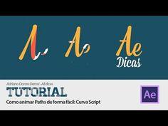 Como animar Paths de forma fácil: Curva Script - Tutorial After Effects - YouTube