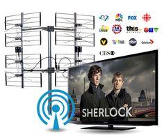 Économisez jusqu'à 1000$ par an en frais d'abonnement télé. Sherlock, Antenna Tv, Fresh, Projects