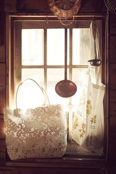 Cut Lace Carryall @ #Anthropologie