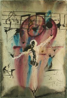 Salvador Dali, Hatikvah (Hope)..., Lithograph on Paper, Limited Edition